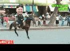 金正恩有被恶搞:金正恩骑马摔倒了