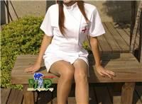 护士姐姐无可挑剔的双腿