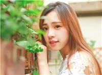 清新可爱小美女与萌猫小清新文艺写真照