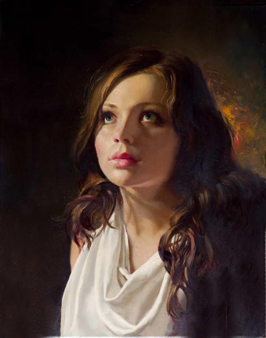 欧洲古典美女超高清油画图片(点击浏览下一张趣图)