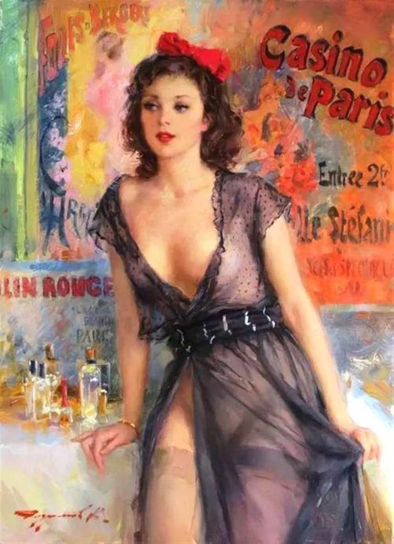 俄罗斯画家笔下的女人体,如痴如醉!(点击浏览下一张趣图)